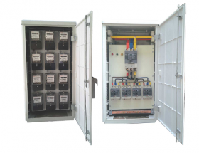 WATT HOUR METER BOX AND LOW VOLTAGE DISTRIBUTION SWITCH BOARD